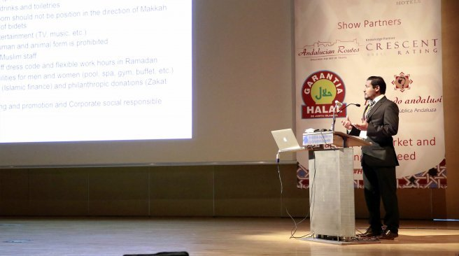 Maldivian-lectures-at-the-first-Halal-Tourism-Conference