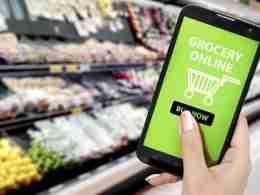Grocery shopping online during Ramadan