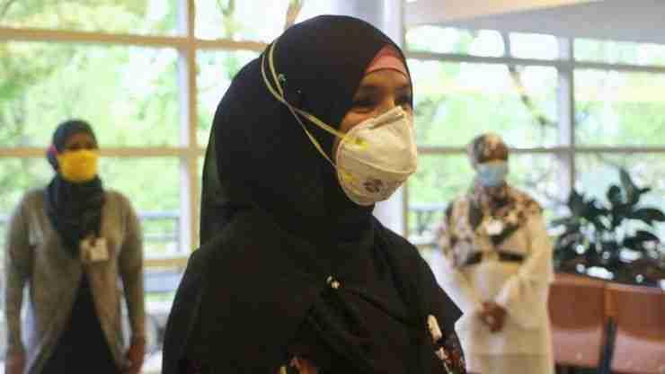Hospital-grade Hijabs
