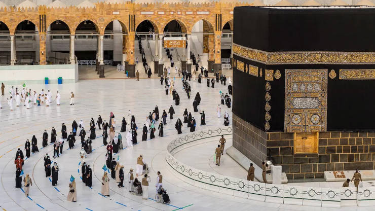 Masjid Al Haram during COVID-19 outbreak
