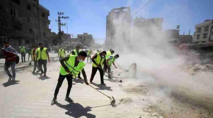 Entrepreneurs in Gaza Rebuilding businesses