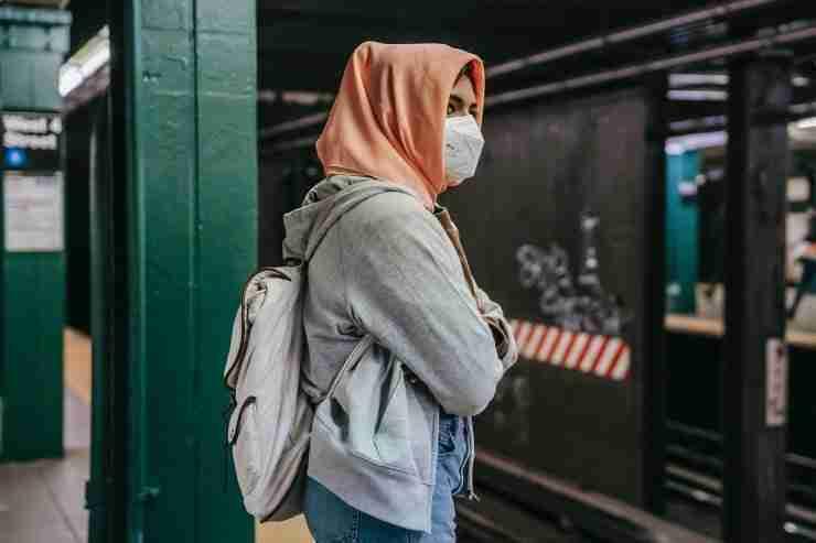 Muslim female travellers