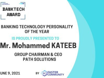 Path Solutions Receives Banktech Award 2021