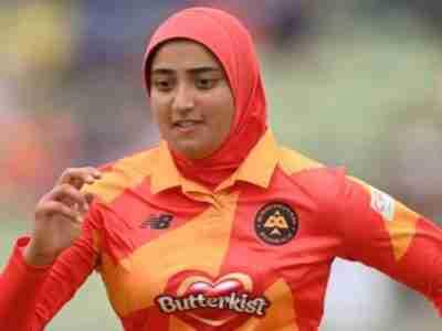 Britain`s First Hijabi Cricketer Wants To Inspire Muslim Girls